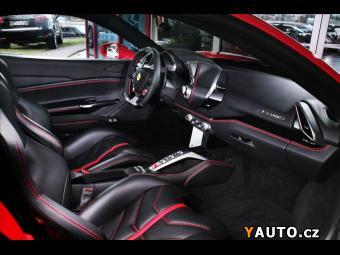 Prodám Ferrari 488 Rosso Scuderia, Race sedadla