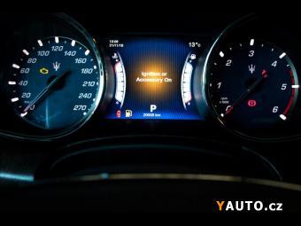 Prodám Maserati Quattroporte Diesel V6, ventilace, DVD, Key