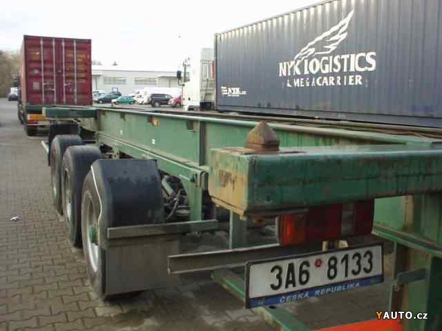 Prodám Návěs nákladní BSS Kontejnerák