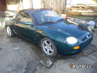 Prodám MG F 1.8, 107kw