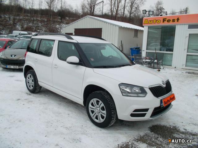 Prodám Škoda Yeti 1.2TSi, DSG, ČR. 1. MAJ