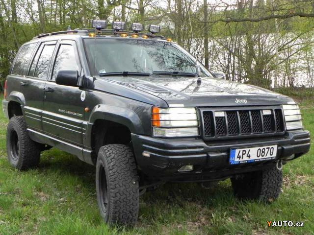 Prodám Jeep Grand Cherokee 5, 9 V8 LPG, 5&, quot, lift prodej Jeep