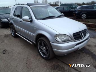 Prodám Mercedes-Benz Třídy M 2.7