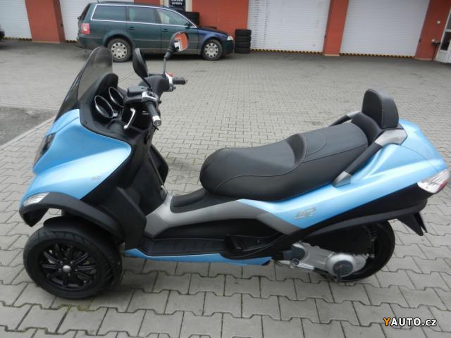 prod m piaggio mp3 125 scooter prodej ostatn motorky. Black Bedroom Furniture Sets. Home Design Ideas
