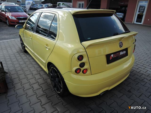 prod m koda fabia rs 1 9 tdi tuning 145kw prodej koda. Black Bedroom Furniture Sets. Home Design Ideas