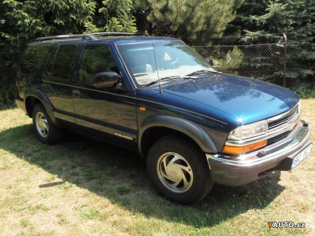 Prodm Chevrolet Blazer Luxury Trim 43 V6 4x4 Prodej Chevrolet
