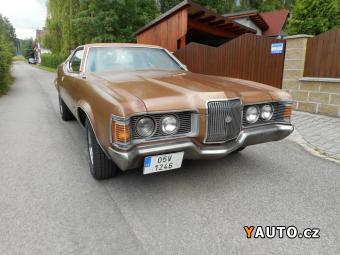 Prodám Mercury Cougar XR7 - 351cui - MUSCLE CAR