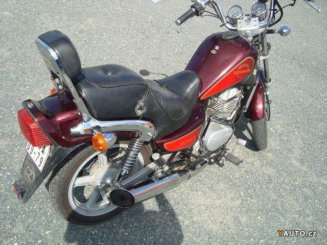 prod m hyosung ga 125 f cruiser ii prodej ostatn motorky. Black Bedroom Furniture Sets. Home Design Ideas