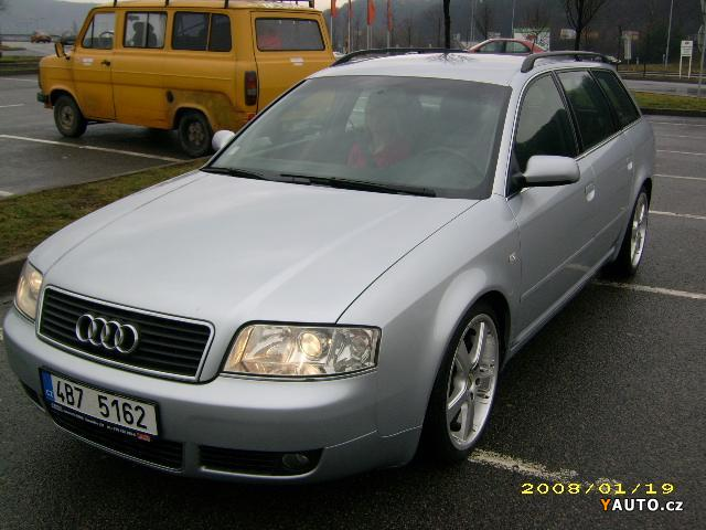 Prodám Audi A6 2.5 TDI climatronic, parktroni