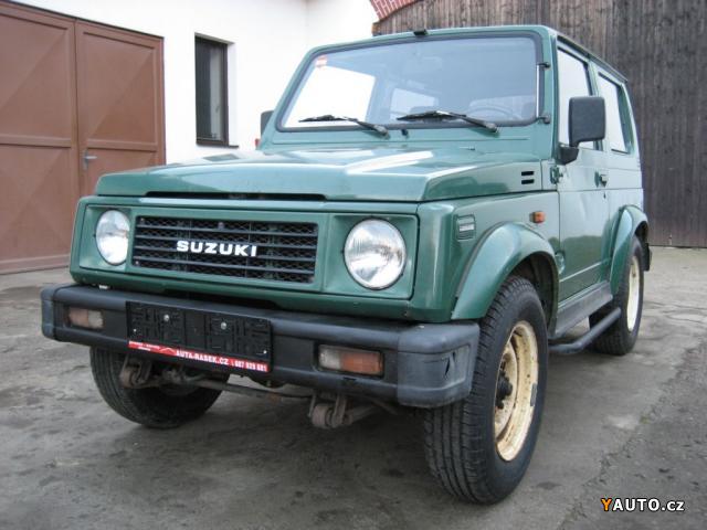 prod m suzuki samurai 1 3 4x4 1990 prodej suzuki samurai osobn auta. Black Bedroom Furniture Sets. Home Design Ideas