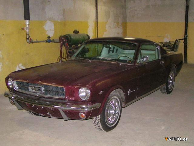 Prod 225 M Ford Mustang Fastback 289 Automat Prodej Ford