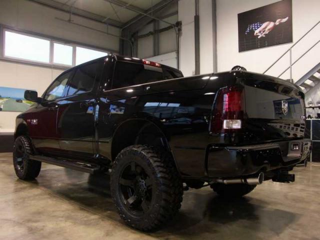 2014 Dodge Ram 1500 Black Out for Pinterest