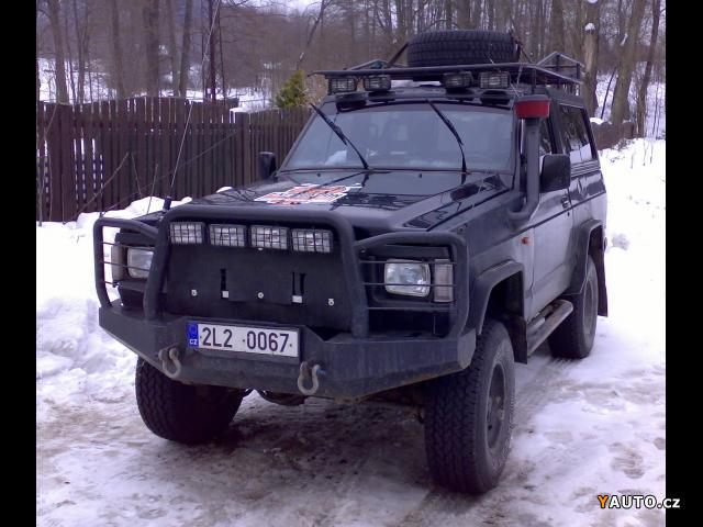 Nissan patrol španěl