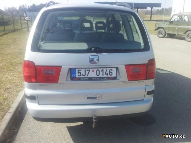 Prod 225 M Seat Alhambra 2 0i 85kw Benz 237 N Prodej Seat Alhambra