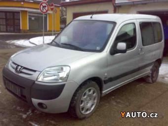 Prodám Peugeot Partner 2,0 HDI 90PS, 5-MÍST, TOP