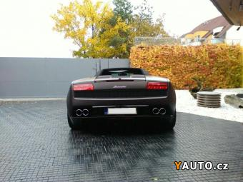 Prodám Lamborghini Gallardo LP560-4 SPYDER