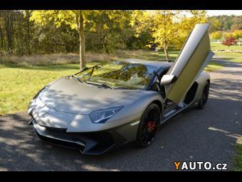 Prodám Lamborghini Aventador LP 750 SV ROADSTER
