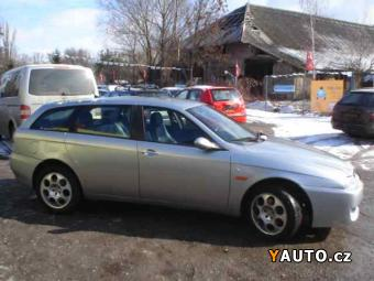 Prodám Alfa Romeo Sportwagon 1,9 JTD, D. KLIMA, ALU, TOP