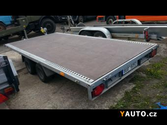 Prodám Humbaur 3t, 4x2m přívěs