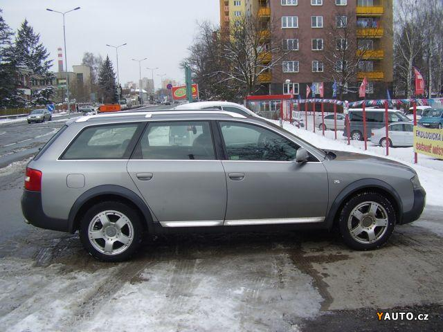Prod 225 M Audi A6 Allroad 2 5 Tdi Prodej Audi A6 Allroad Osobn 237 Auta