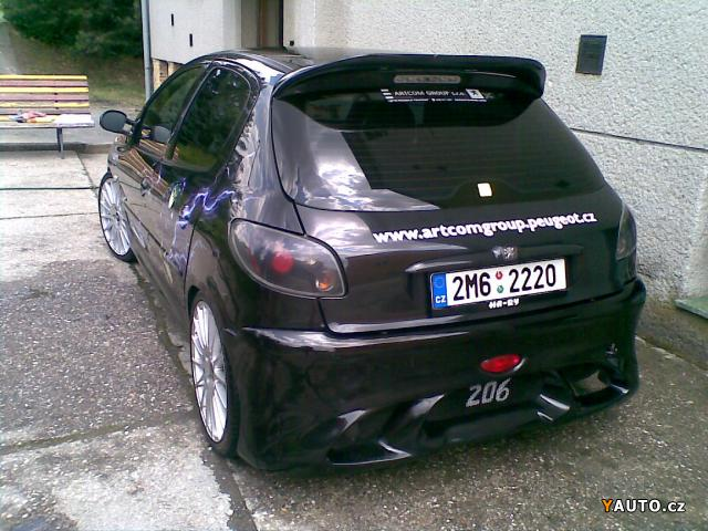 prod m peugeot 206 2 0 hdi tuning prodej peugeot 206 osobn auta. Black Bedroom Furniture Sets. Home Design Ideas