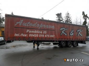 Prodám Panav MULDA NV 35/2KS Návěs MULDA