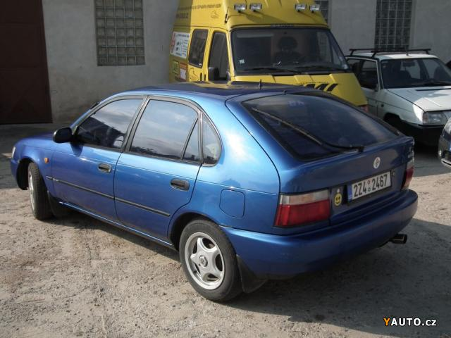 Prodám Toyota Corolla XLI prodej Toyota Corolla Osobní auta