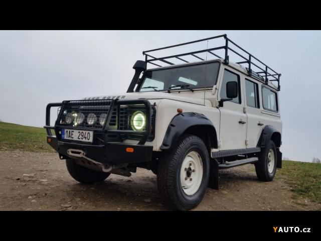 Prodám Land Rover Defender 2.4D 110 7MÍST 1CZ REZERVACE