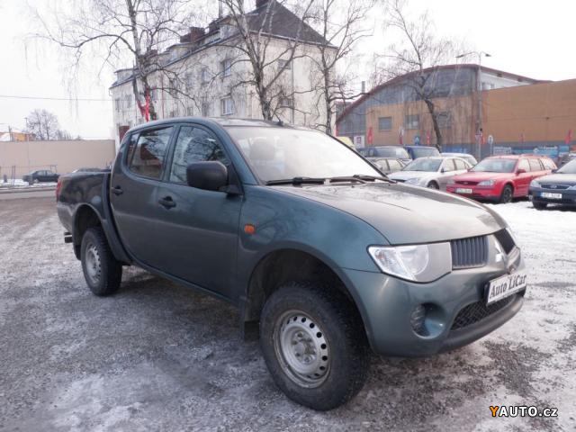 Prodám Mitsubishi L200 2.5 D-iD 123kW, 4x4, původ ČR