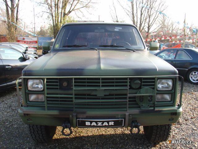 Prodm Chevrolet Blazer 62 Diesel Orig Us Army Prodej Chevrolet