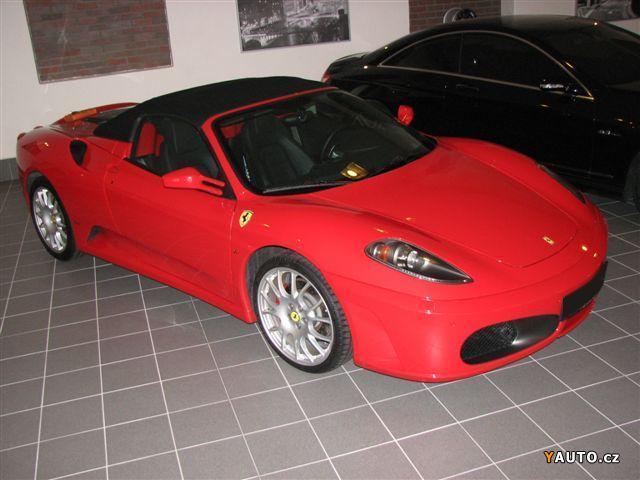 Prodám Ferrari F430 Spider F1 489PS