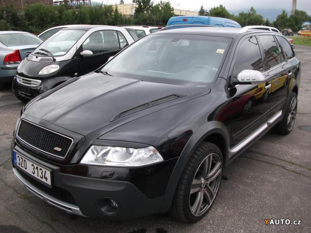 prodám Škoda octavia scout 2.0 tdi 4x4, tuning prodej Škoda octavia
