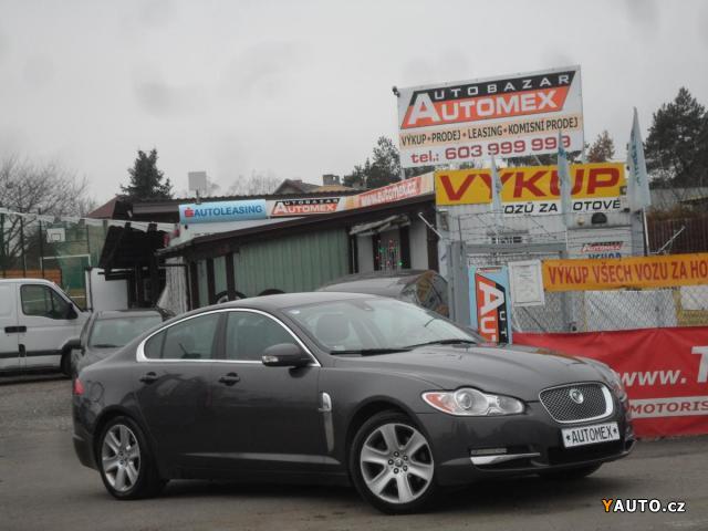 Prodám Jaguar XF 2.7D V6- XENONY, KŮŽE, ALU