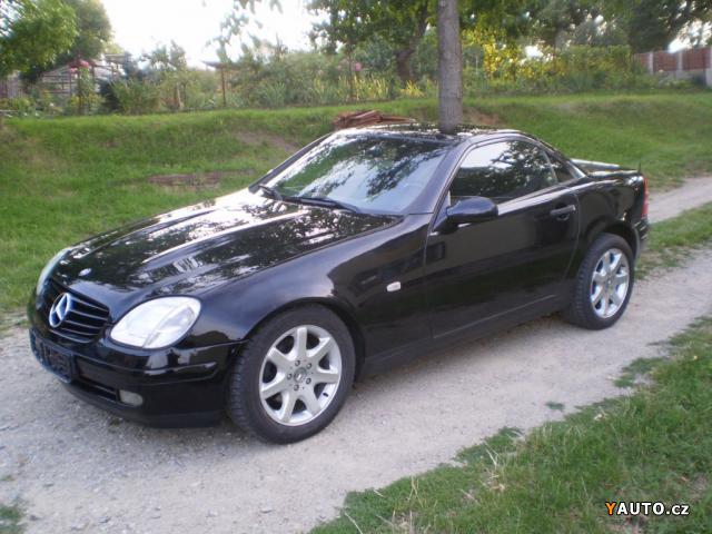 prod m mercedes benz slk 200 cabrio 100kw klima prodej. Black Bedroom Furniture Sets. Home Design Ideas