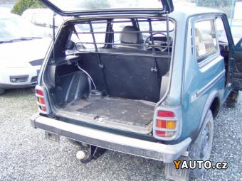 Prodám Lada Niva 1.7i, 4x4, ZÁVĚS