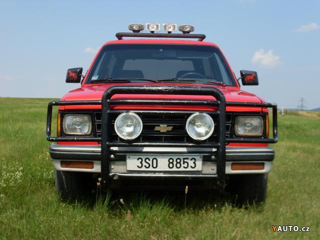 Prodm Chevrolet Blazer Chevrolet Blazer S10 Sport Prodej Chevrolet