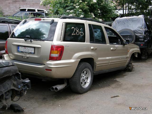 Prodám Jeep Grand Cherokee 4, 7