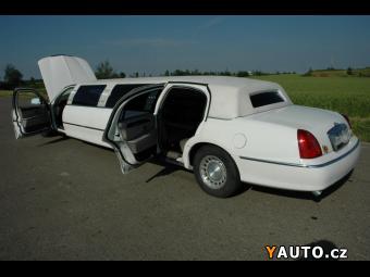 Prodám Lincoln Town Car 4.6 limuzina pro 8 lidí