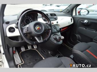 Prodám Fiat 500 ABARTH BÍLÁ PERLEŤ, PRAV. SERVIS