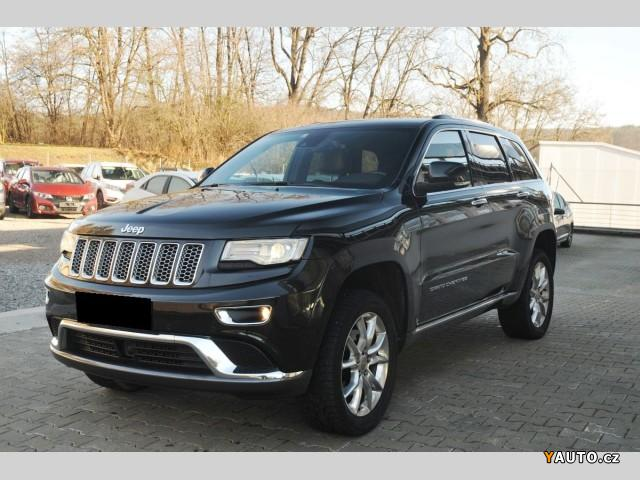Prodám Jeep Grand Cherokee 3,0CRDi SUMMIT, ČR, 2. MAJ, TOP