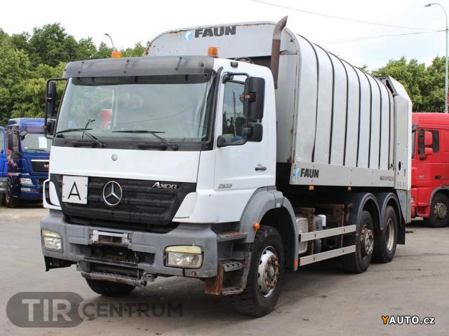 Prod m mercedes benz 2533 l 6x2 4 prodej ostatn for Mercedes benz 950