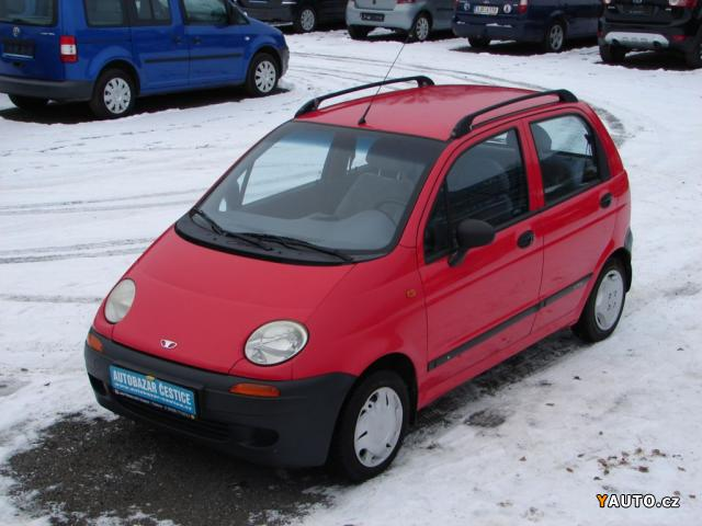 Prodám Daewoo Matiz 2000 NOVÉ V ČR