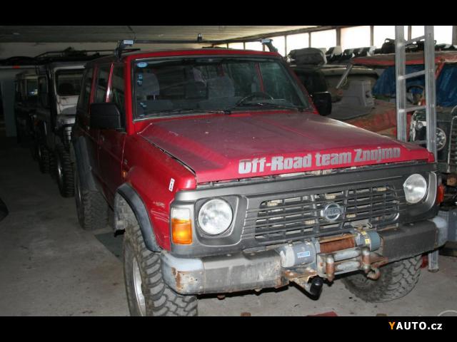 Prodám Nissan Patrol Nissan Patrol GR Y60 2, 8td