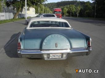 Prodám Lincoln Continental 7.5 MARK III V8