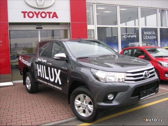 Prodám Toyota Hilux 2.4 D-4D DC ACTIVE