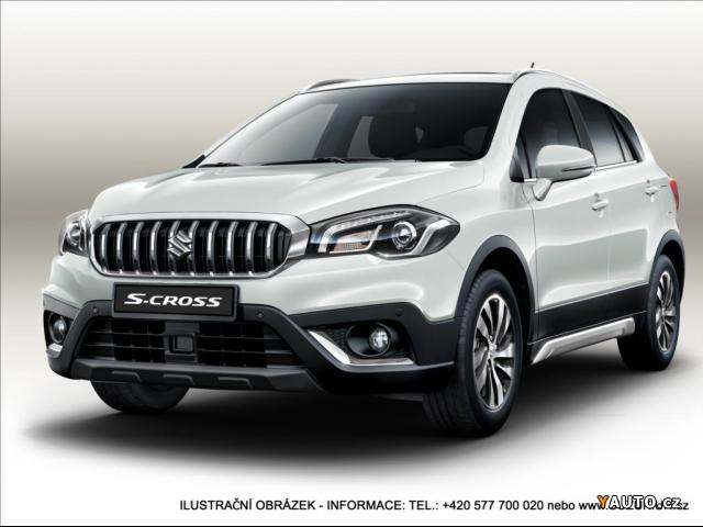 Prodám Suzuki S-Cross 1,4 Elegance AT LUX AllGrip