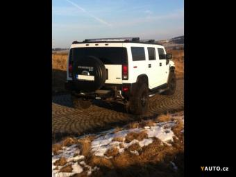 Prodám Hummer H2 H2 FlexFuel LUXURY
