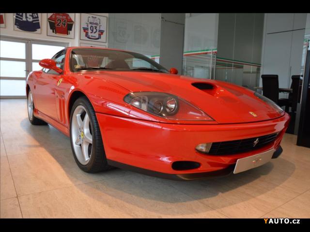 Prodám Ferrari F550 Maranello, MANUÁL