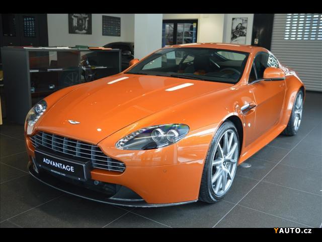 Prodám Aston Martin V8 Vantage 4,8 S, Bang & Olufsen Sound