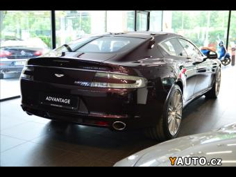Prodám Aston Martin Rapide 6,0 V12, Entertainment, Bang